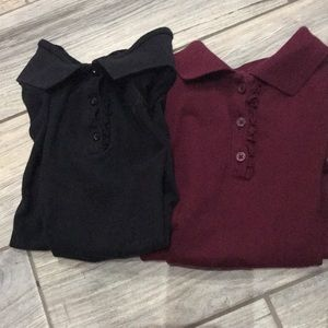 2 Children's Places polos 👕size L 10-12